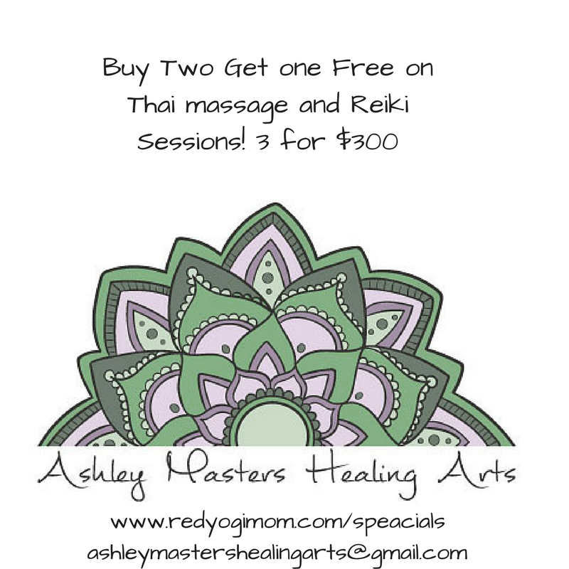 Buy Two Get one Free on Thai and Reiki Sessions
